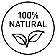 icon 100% natural