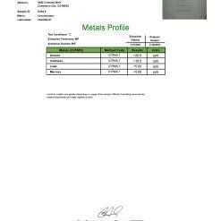 Delta-8 Distillate Metals COA - Jan 2021